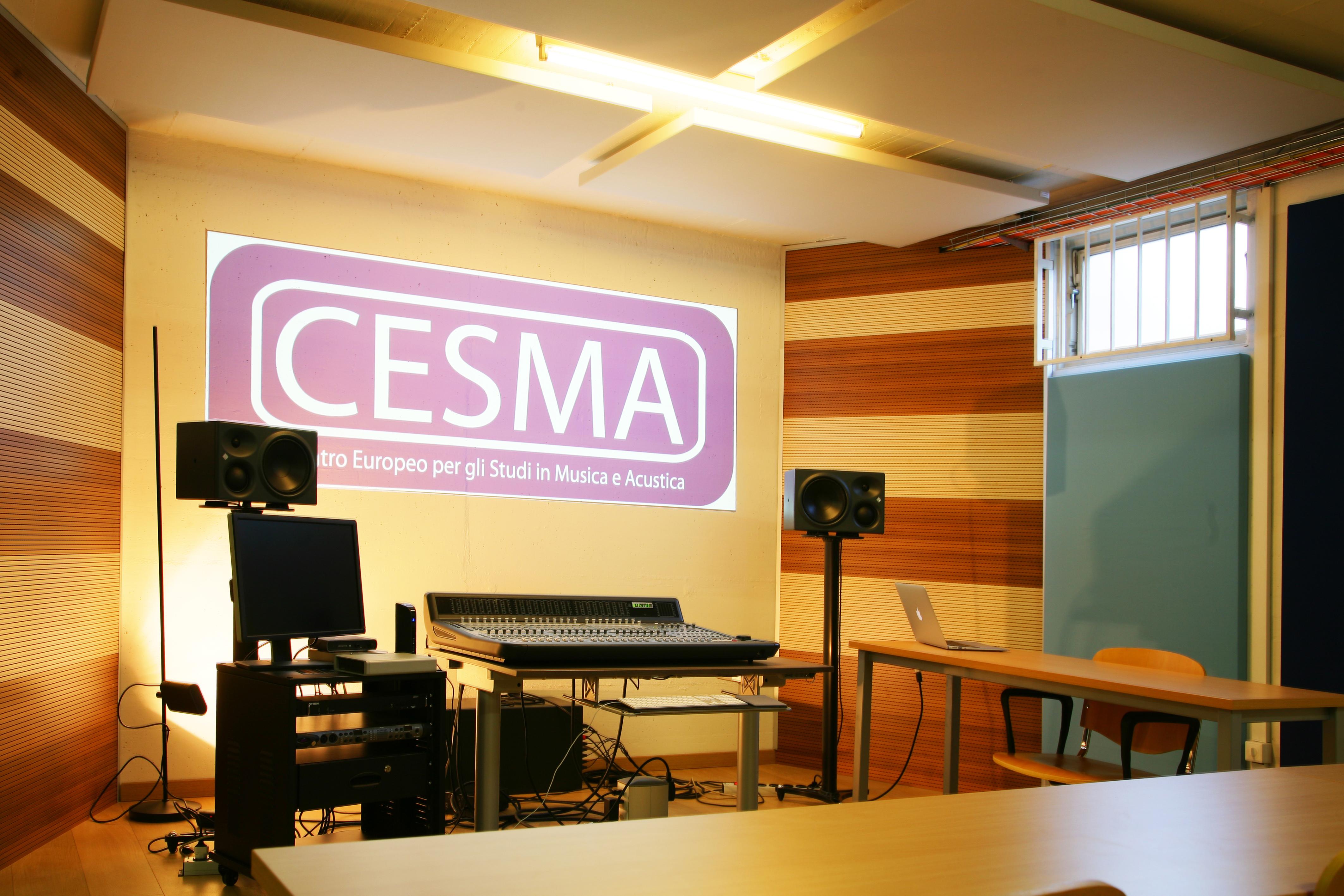 CESMA – Centro Europeo per gli Studi in Musica e Acustica